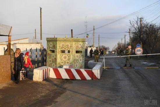 Боевики из зенитных установок и гранатометов обстреляли опорный пункт пограничников