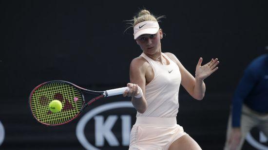 Юна українка Костюк стала наймолодшою учасницею основної сітки Australian Open