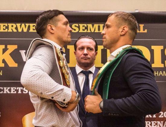 Стали известны гонорары Усика и Бриедиса за полуфинальный бой WBSS