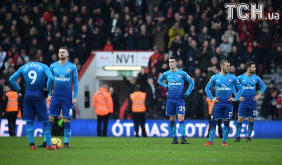 """""""Арсенал"""" без своїх лідерів зазнав поразки від одного з аутсайдерів чемпіонату"""