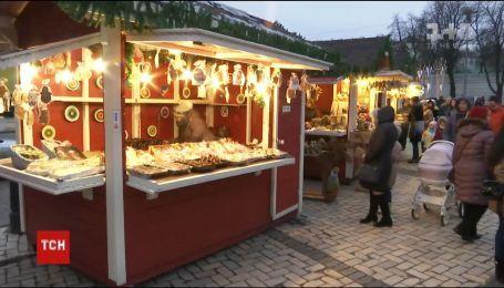 Конец праздникам. На Софийской площади Киева начали разбирать главную елку страны