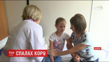 В Киеве за выходные зарегистрировали 20 новых случаев заболевания корью