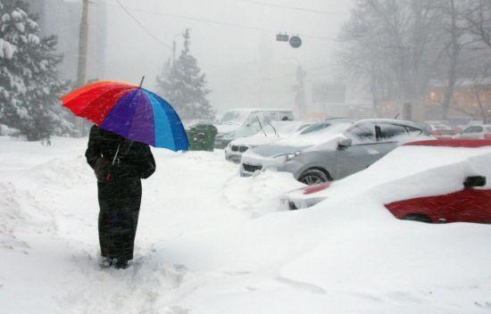 На зміну лютим морозам прийдуть снігопади. Прогноз погоди на 16-20 січня