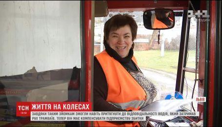 Львовянка создала блог о буднях трамвая, собравший полтысячи подписчиков