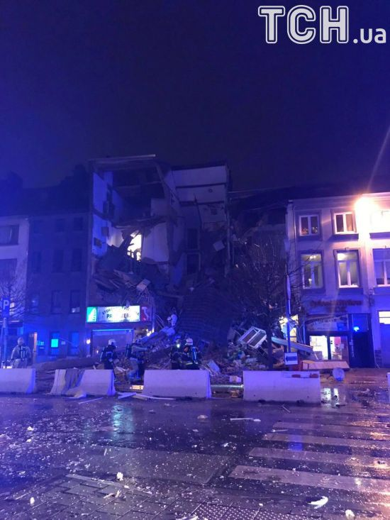 У бельгійському Антверпені стався вибух і обвал у жиловому будинку
