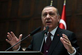 Ердоган обговорив з Макроном, Мей і Путіним ракетні удари по Сирії