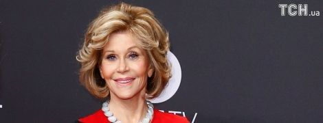 Голливудская актриса Джейн Фонда удалила раковую опухоль на лице