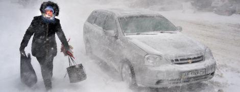 В последние дни зимы в Украине ударят сильные морозы, местами будут метели