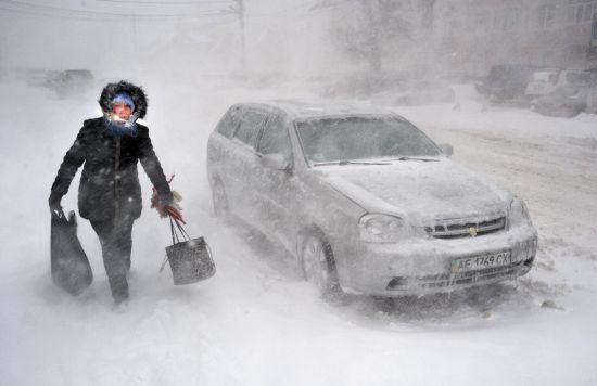 Льодовиковий період. Україну завалить снігом, а потім після відлиги вдарять 25-градусні морози