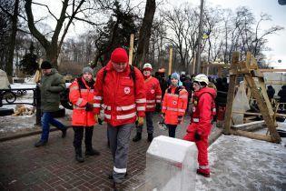 У Червоному Хресті нарахували два десятки постраждалих у сутичках під Радою