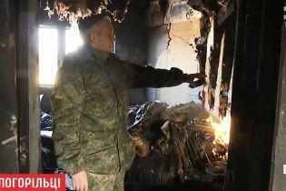 На Київщині згорів будинок добровольця АТО
