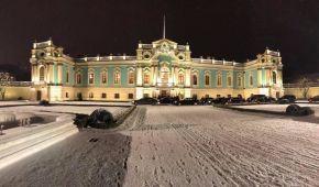 После долгой реконструкции открыли Мариинский дворец и провели там дипломатический прием