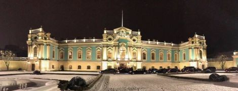 Після довгої реконструкції відкрили Маріїнський палац та провели там дипломатичний прийом