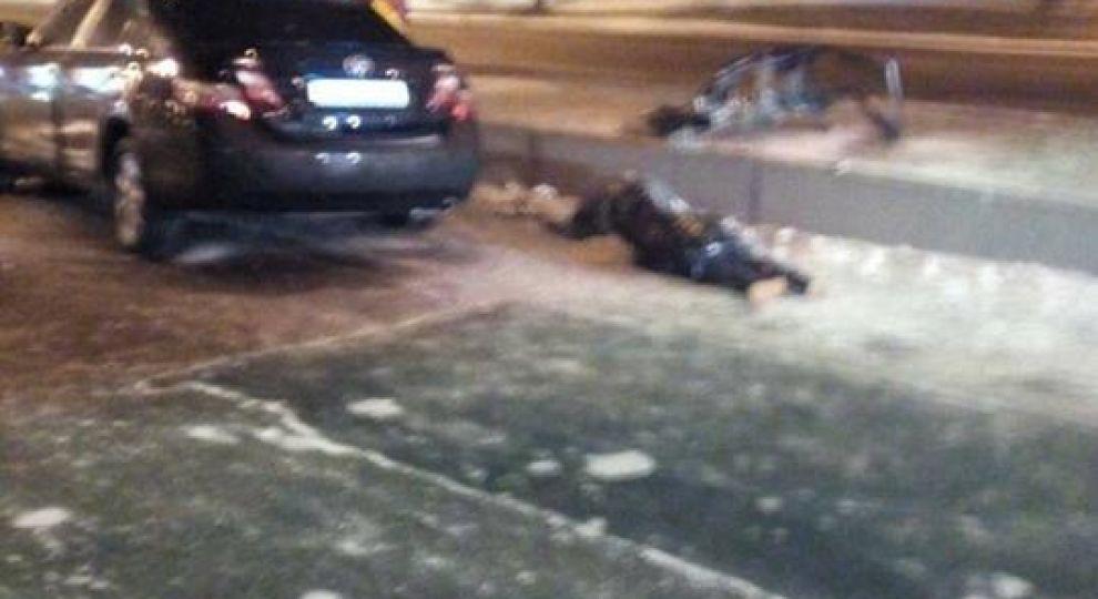 Під мостом Метро Toyota влетіла в опору: пасажирка загинула