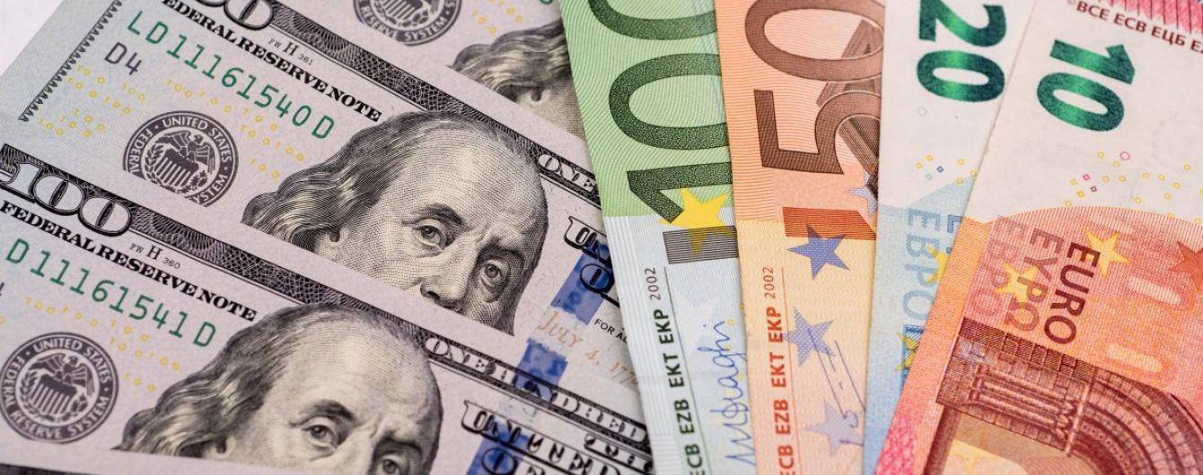 После выходных доллар останется стабильным, а евро подорожает в курсах Нацбанка. Инфографика