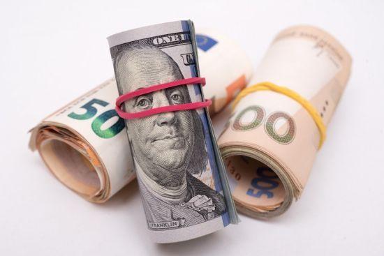 Гривня відносно євро впала до чергового історичного антирекорду в курсах Нацбанку. Інфографіка