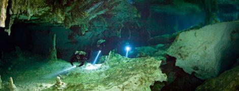 Самую длинную подводную пещеру мира с уникальными реликвиями нашли в Мексике
