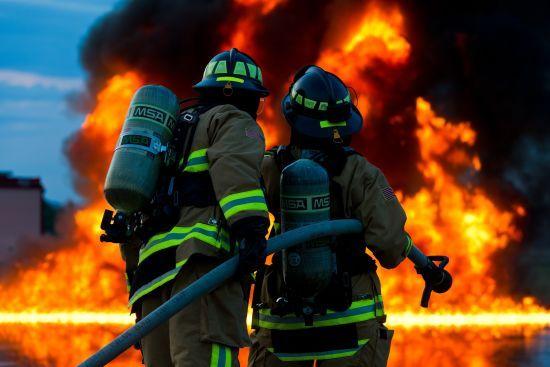 На Херсонщині під час пожежі вчаділи три маленькі дитини