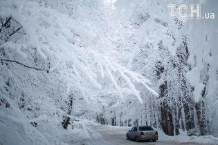 Україну атакує снігова негода. Текстовий онлайн