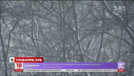 Снігопади в країні: кого вже накрило і коли вщухне негода