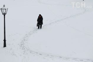 Україну надалі засипатиме снігом, а на морі здіймуться 5-метрові хвилі. Прогноз на 19-23 січня