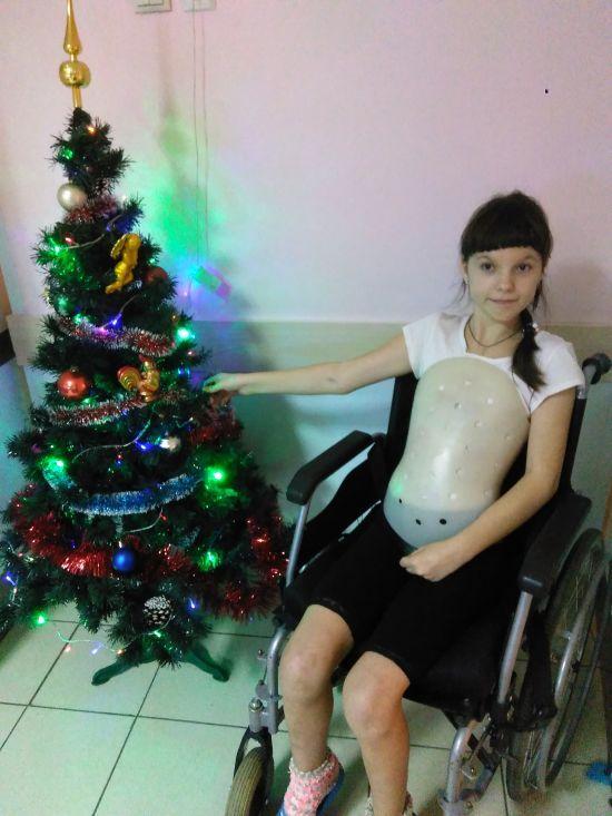 Махова Софійка потребує допомоги після нещасного випадку