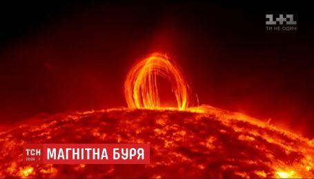 Землей пройдет магнитная буря из-за вспышки на солнце