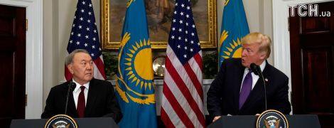 Трамп предложил перенести из Минска переговоры по Донбассу - Назарбаев
