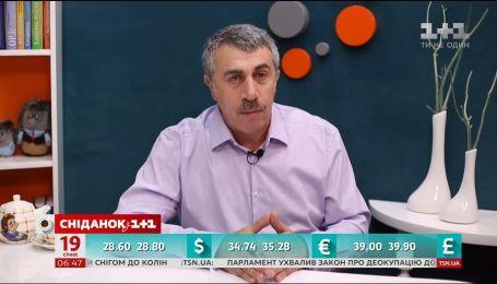 Лікар Комаровський прогнозує епідемію дифтерії