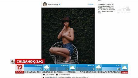 18-річна дочка Джонні Деппа знялася топлес