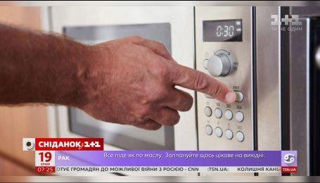 Чем опасна микроволновая печь