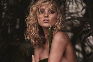 Обнаженная под пальмами: Эльза Хоск в новой откровенной съемке