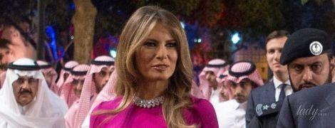 Битва первых леди в вечерних платьях: Мелания Трамп, Брижит Макрон и Марина Порошенко