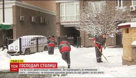 ТСН проверила, зависит ли качество уборки дворов от статуса и состоятельности владельцев домов