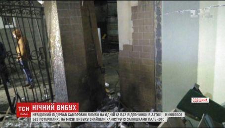 В Одесской области неизвестный взорвал базу отдыха в курортной Затоке