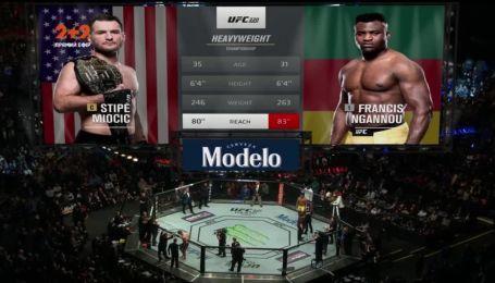 UFC 220. Стипе Миочич - Франсис Нганну. Видео чемпионоського боя