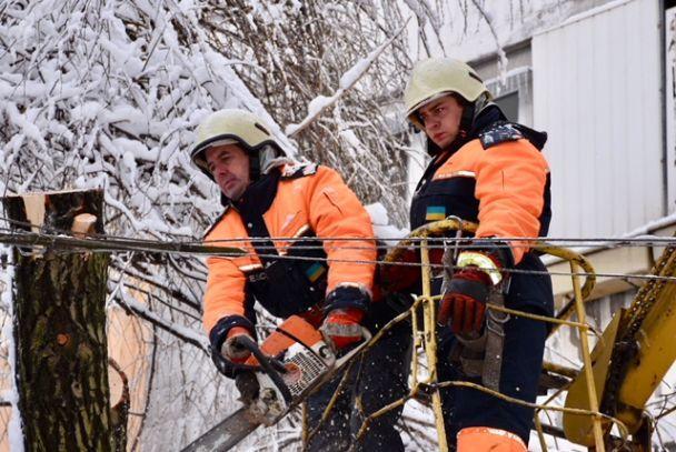 ВУкраїні залишаються знеструмленими 294 населених пункти в5 областях