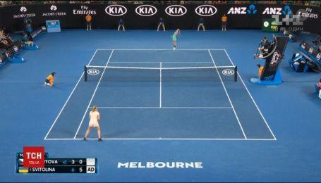 Українка Еліна Світоліна вийшла у чвертьфінал Відкритого чемпіонату Австралії з тенісу