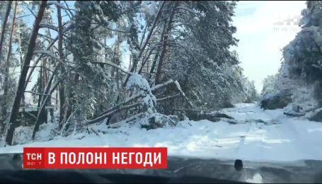 Без света остаются почти полторы стони населенных пунктов в Одесской и Черкасской областях