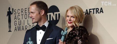Гильдия киноактеров-2018: Уизерспун завораживала изумрудным платьем, Марго Робби – в перьях