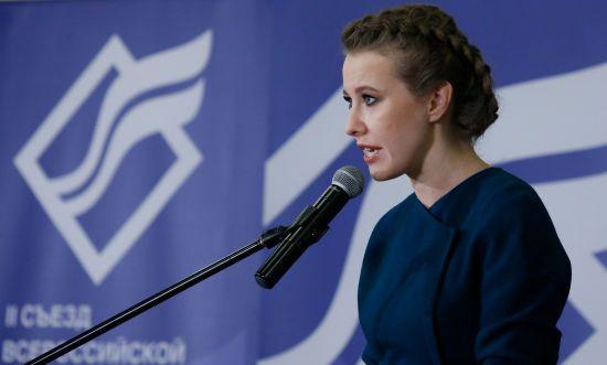 Собчак попросила Путіна помилувати Сенцова і Кольченка