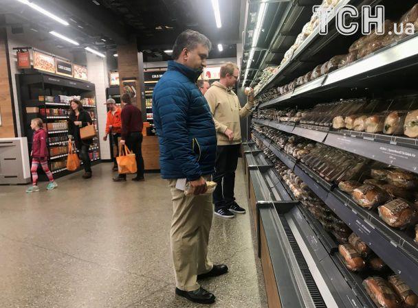 Amazon відкриває перший у світі супермаркет без кас та продавців