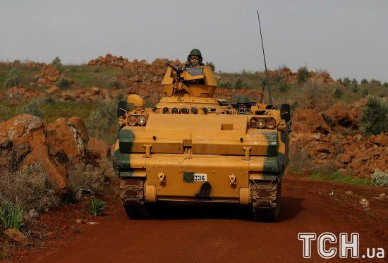 """""""Оливкова гілка"""": перший турецький військовослужбовець загинув унаслідок операції біля Афріна"""
