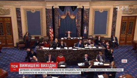 Государственные учреждения США не работают, потому что страна до сих пор не имеет бюджета
