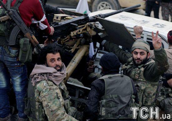 У Сирії курди збили турецький військовий літак - ЗМІ
