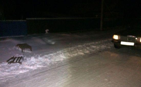 На Одещині дві подруги каталися на санях, прив'язаних до авто, і врізалися в зустрічну машину