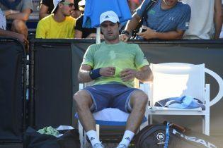 Немецкого теннисиста оштрафовали на 45 тысяч долларов за отказ доиграть матч Australian Open