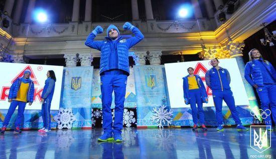 Олімпійська збірна України вирушила на Ігри-2018 в модних обновках