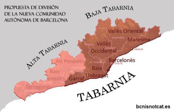Мапа Табарнії