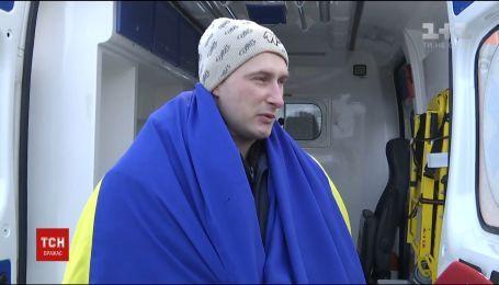 Звільнення заручника: 29-річний вінничанин Роман Савков вже на волі